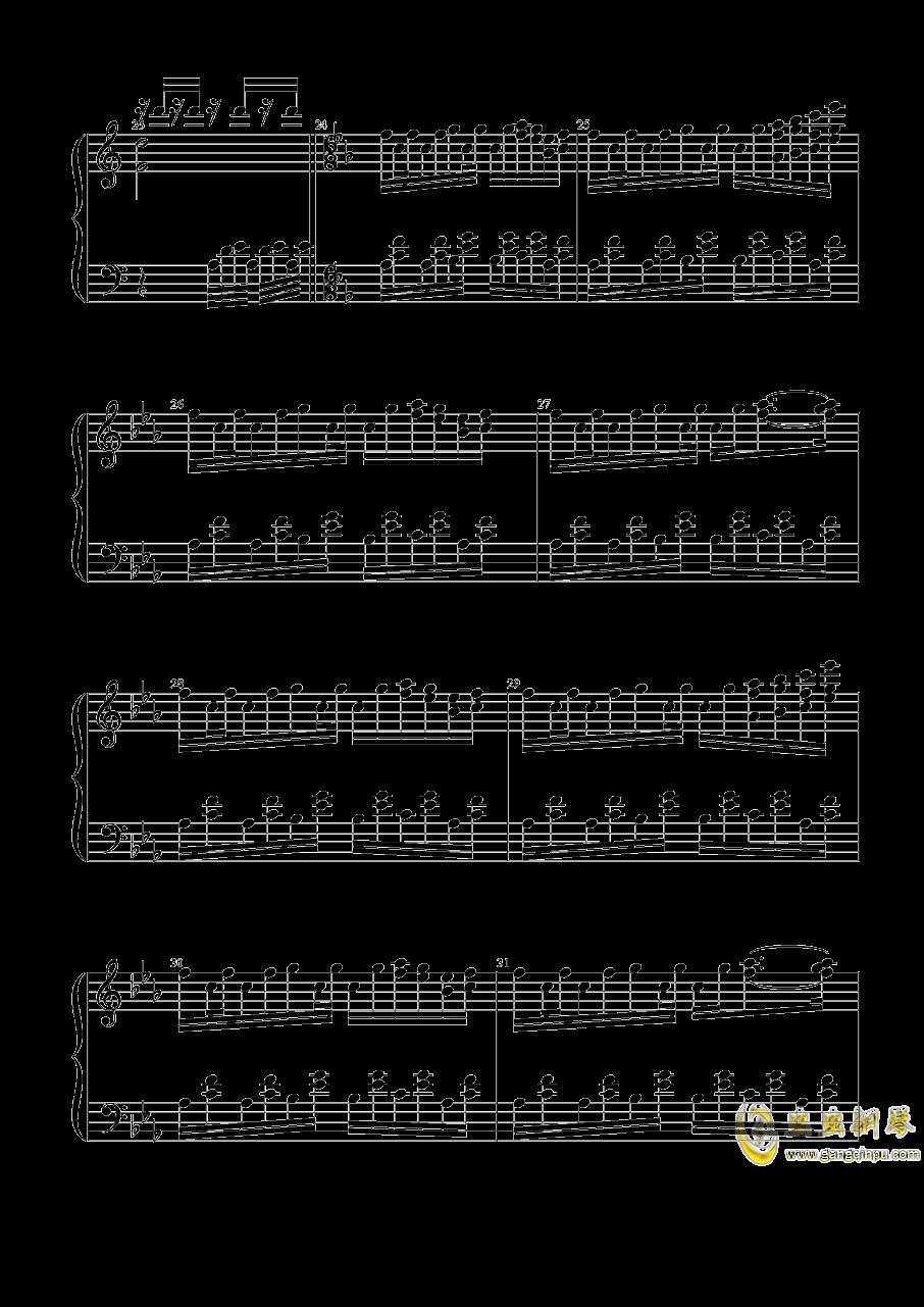 宇佐大人的白旗钢琴谱 第4页