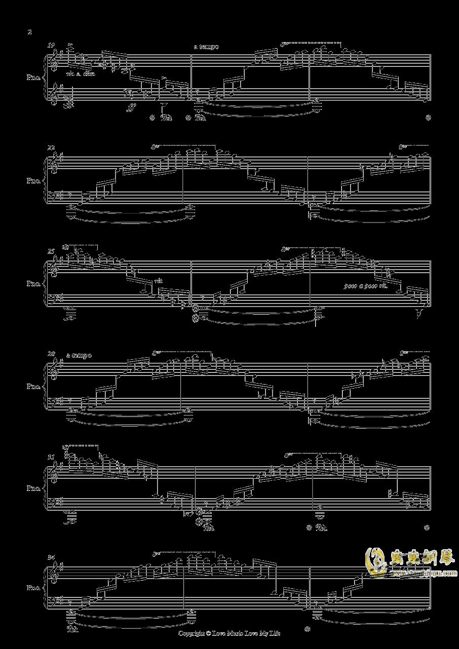 Etudes Op. 2 No. 1钢琴谱 第2页