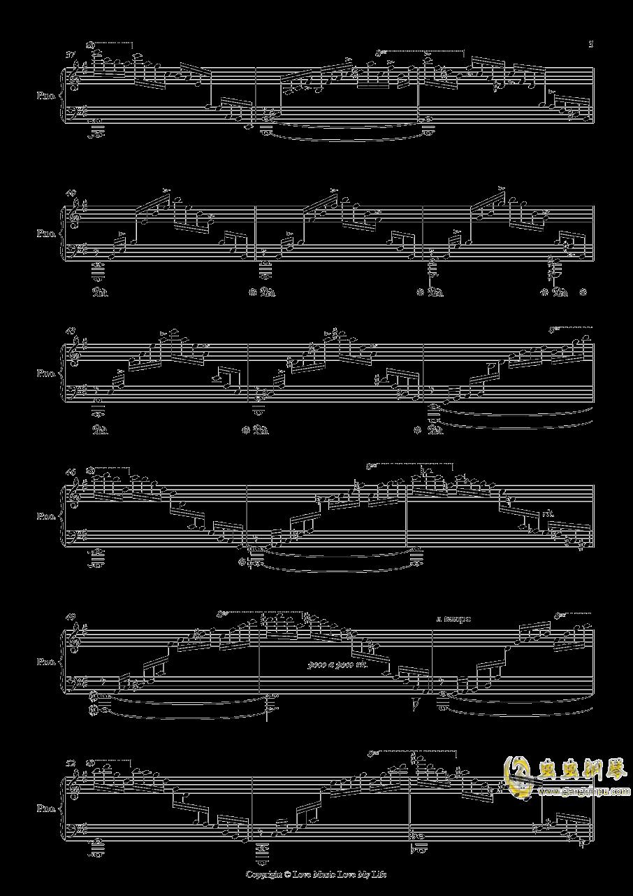 Etudes Op. 2 No. 1钢琴谱 第3页