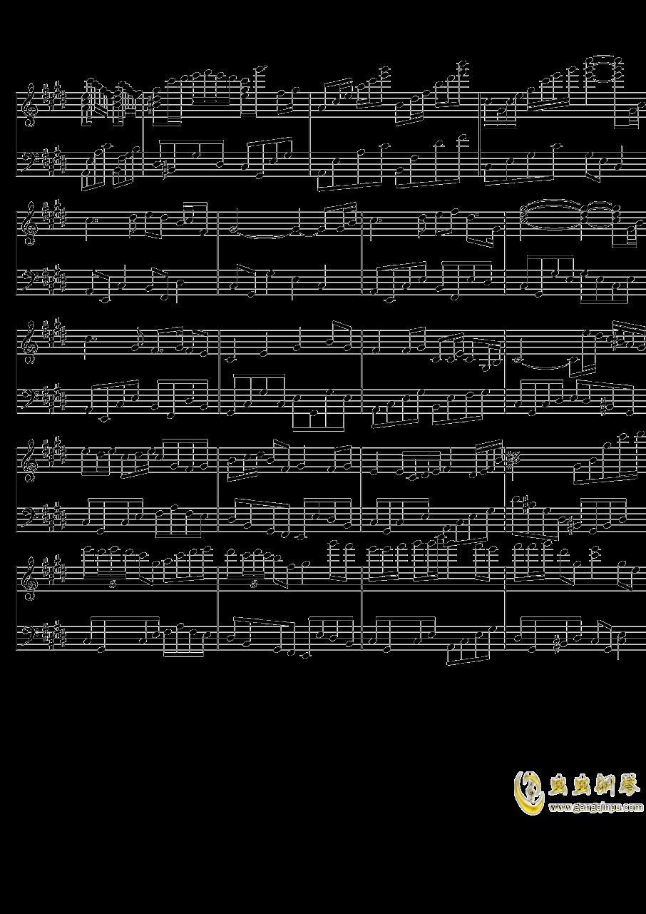 春之动钢琴谱 第4页