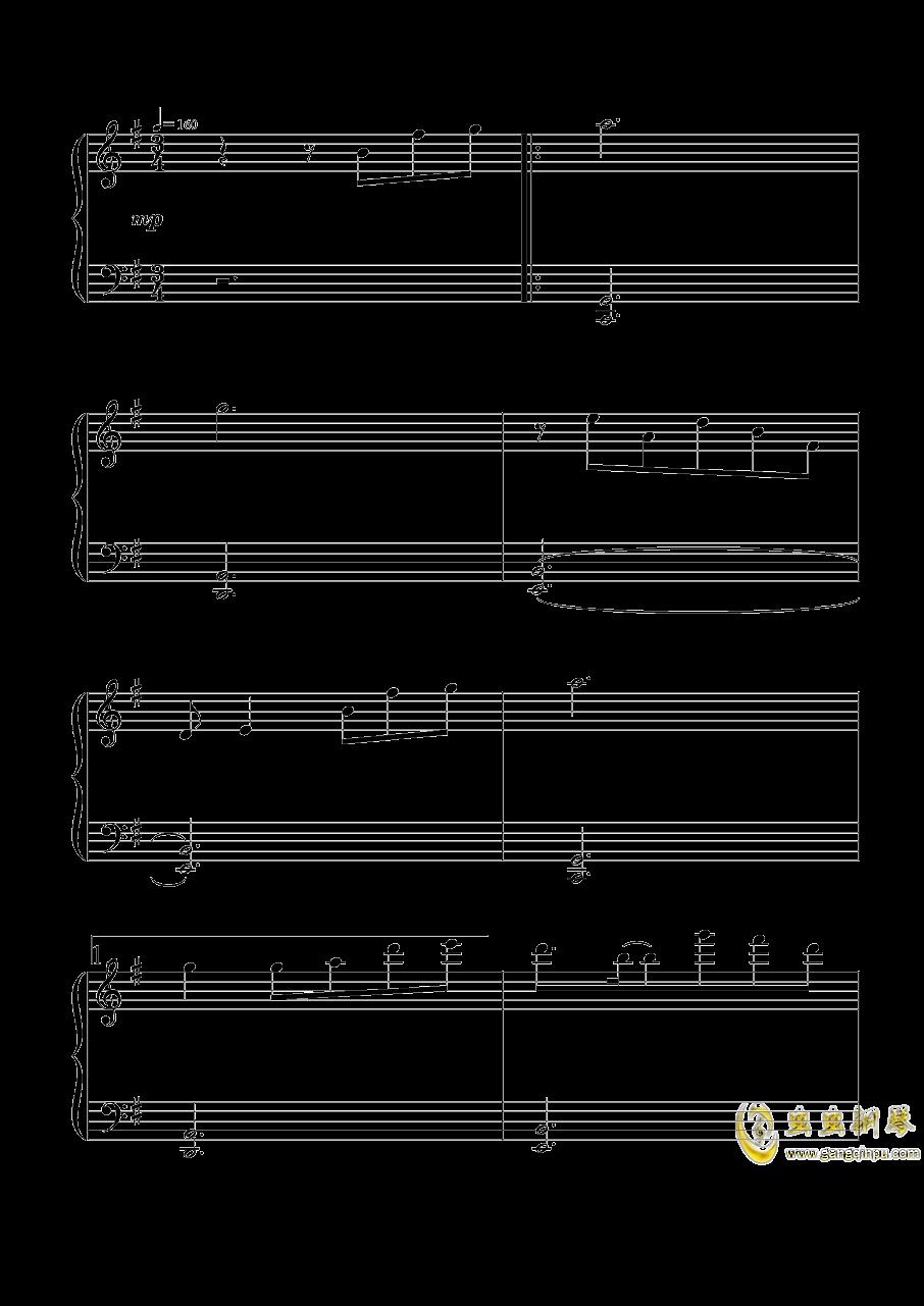 Flower Land钢琴谱 第1页