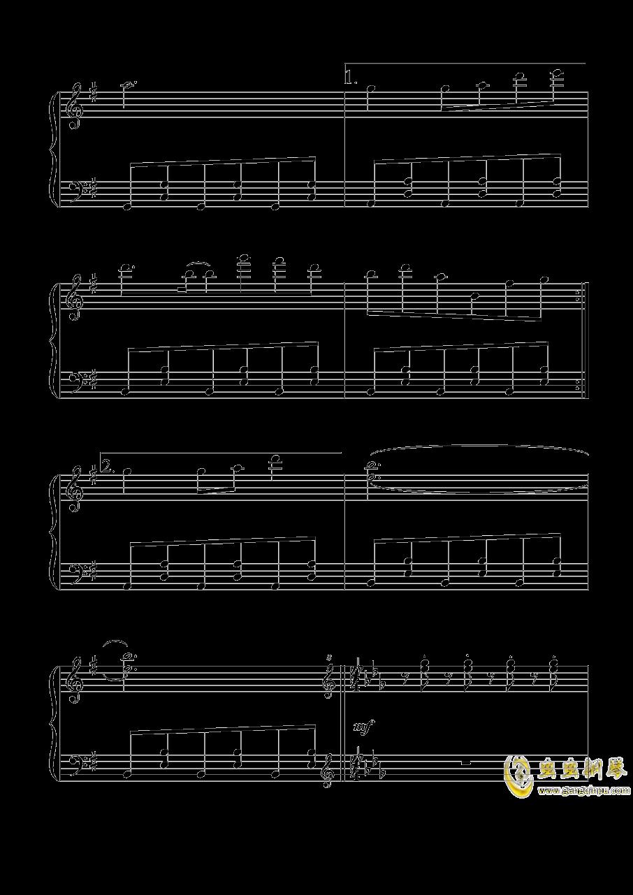 Flower Land钢琴谱 第3页