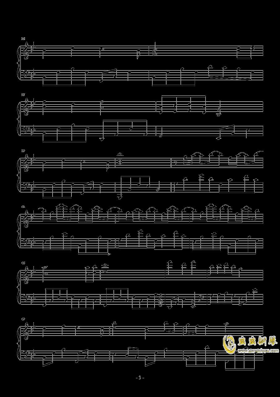 国王与乞丐钢琴谱 第3页