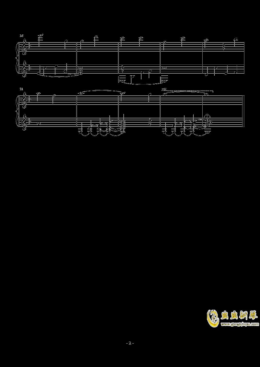 不染钢琴曲谱简谱