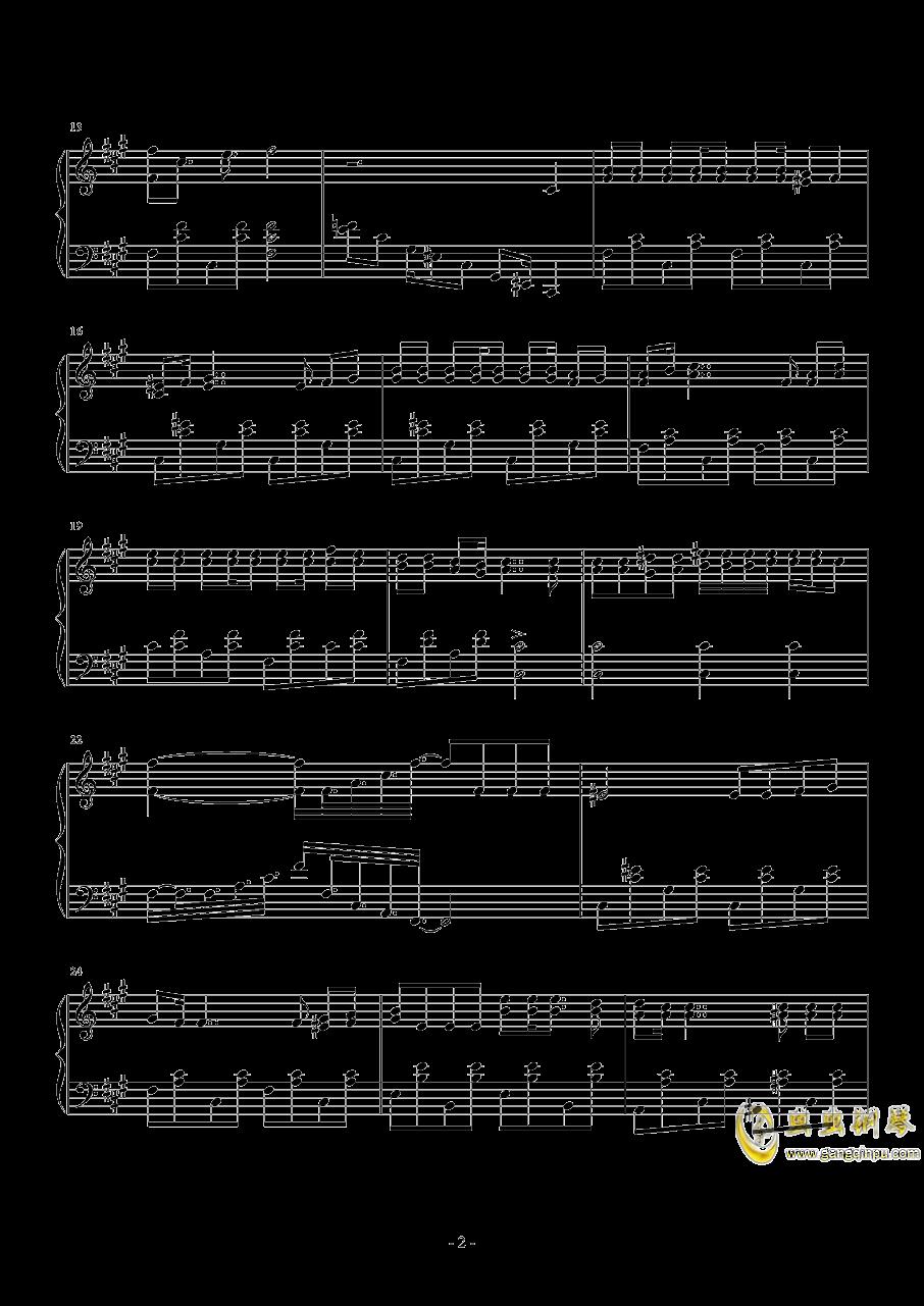 Neru 钢琴谱 第2页