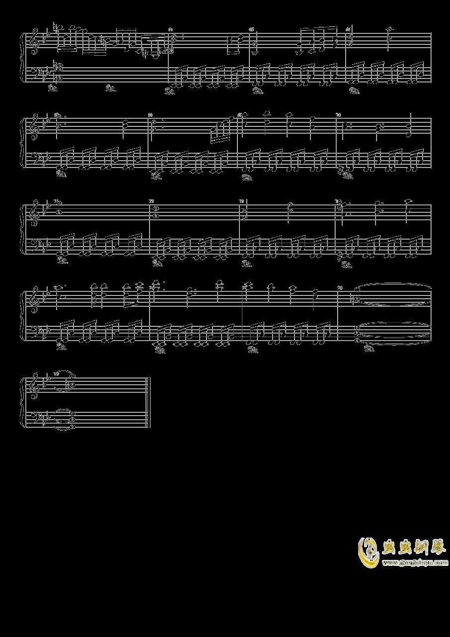 Wonderful Heaven钢琴谱 第3页