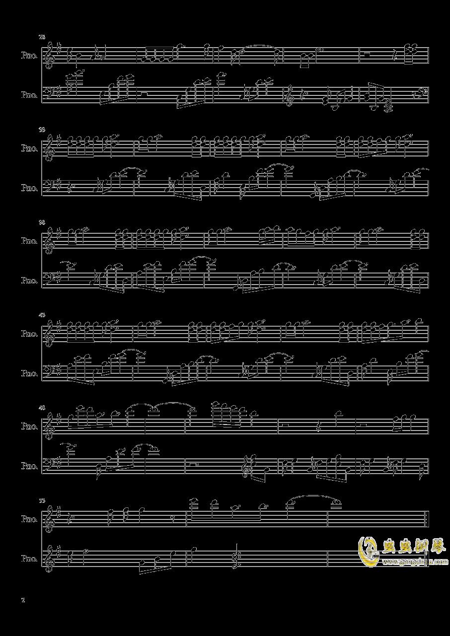 Pick Me-是我呀我钢琴谱 第2页