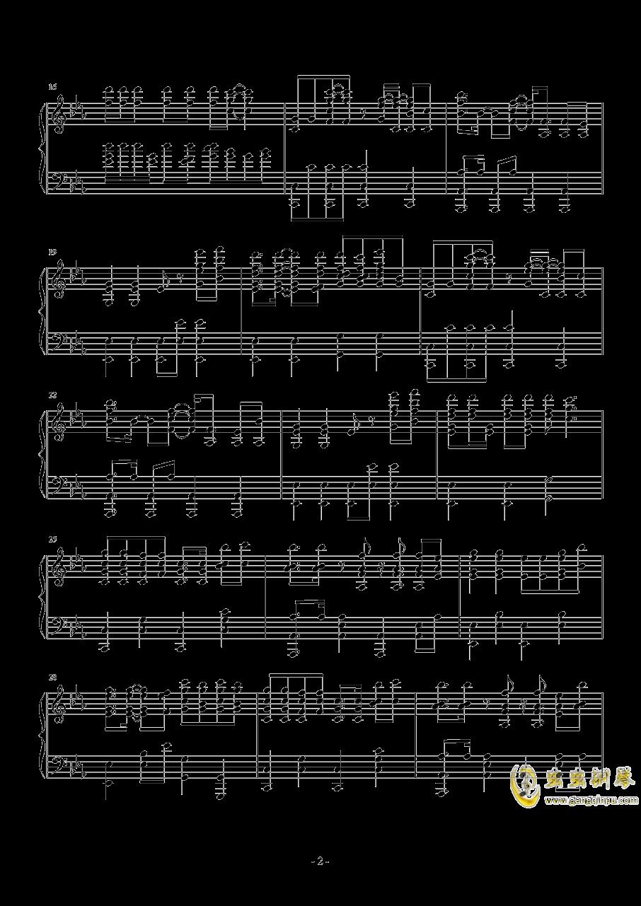 Nevada钢琴谱 第2页