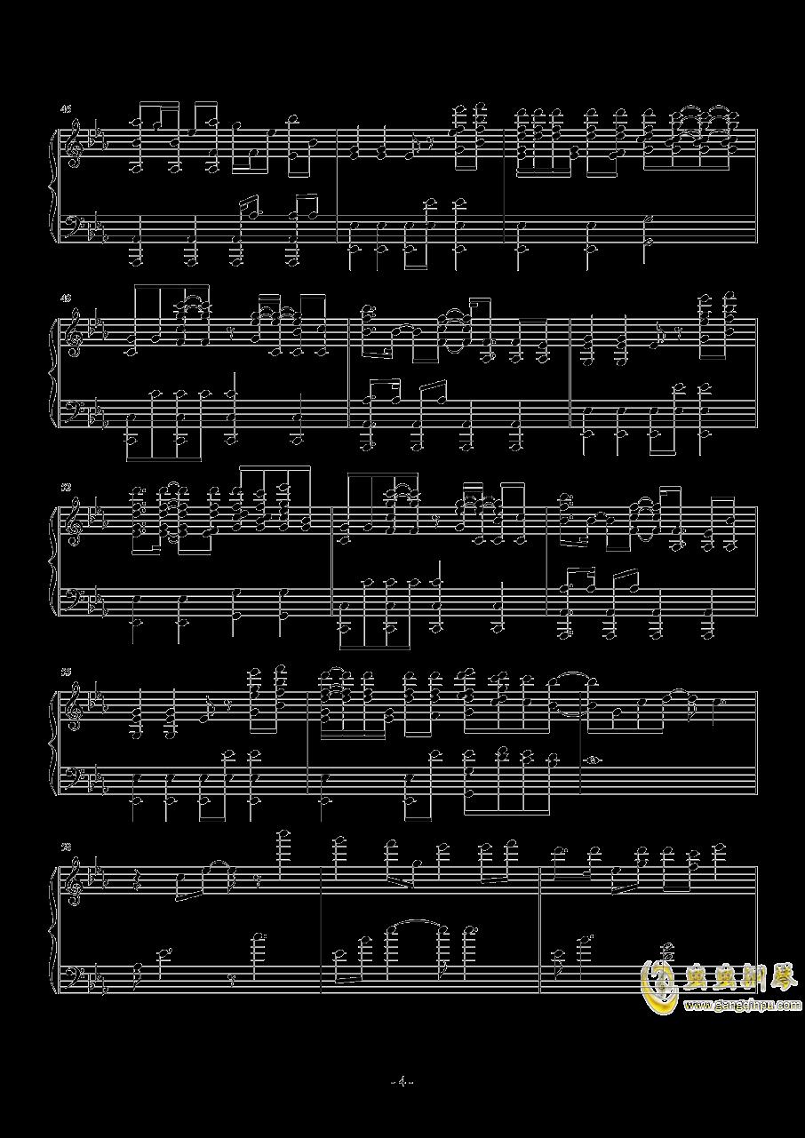 Nevada钢琴谱 第4页
