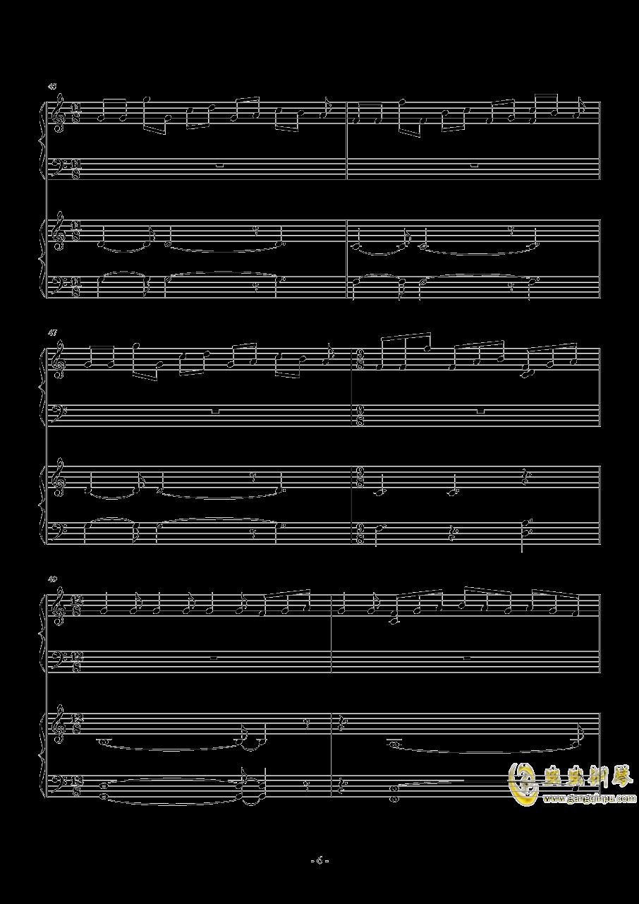 昴宿星团舞曲钢琴谱 第6页