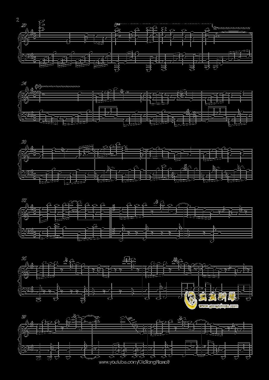 希望之星直升青霄钢琴谱 第2页