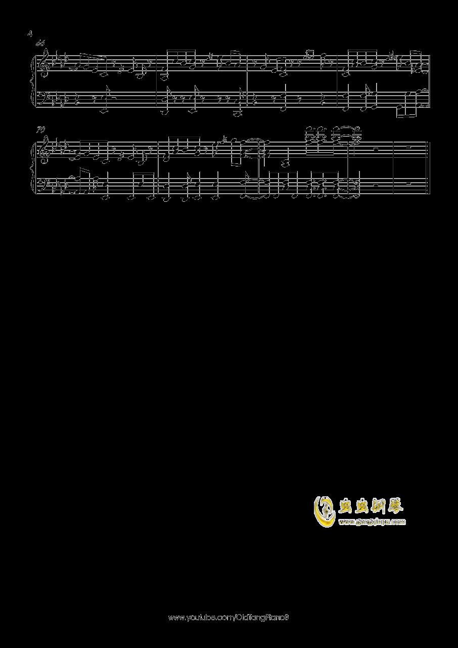 希望之星直升青霄钢琴谱 第4页
