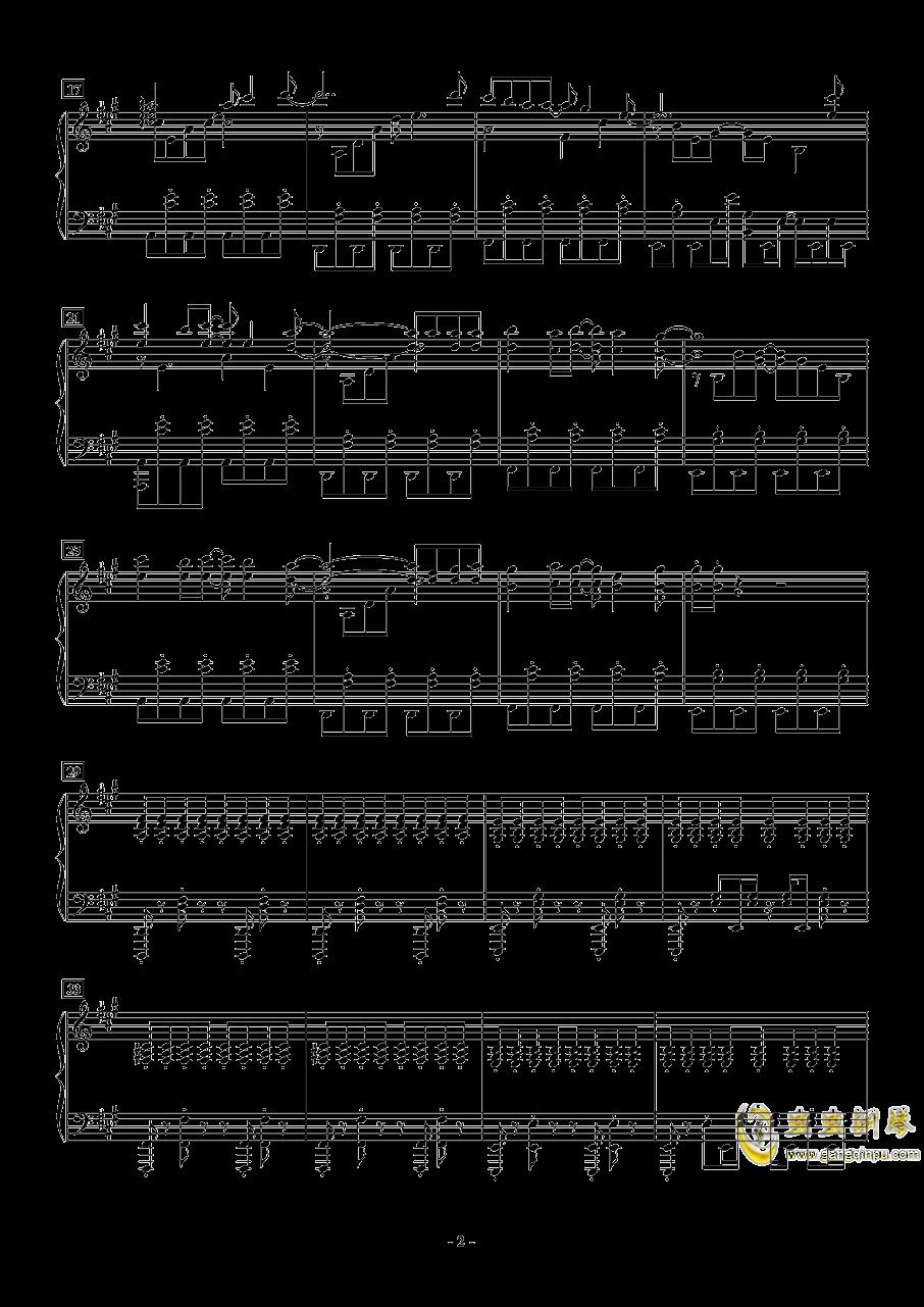 Deemo - Pilot钢琴谱 第2页