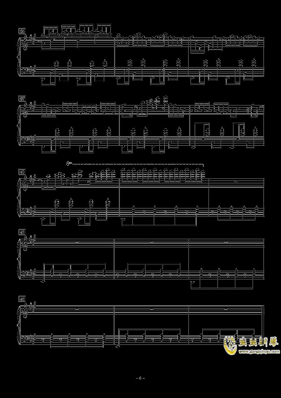 Deemo - Pilot钢琴谱 第4页
