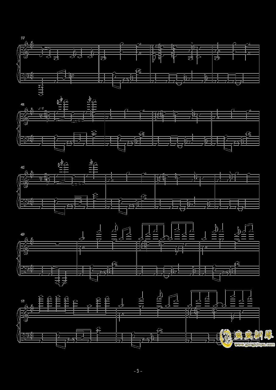 MR.Q钢琴谱 第3页