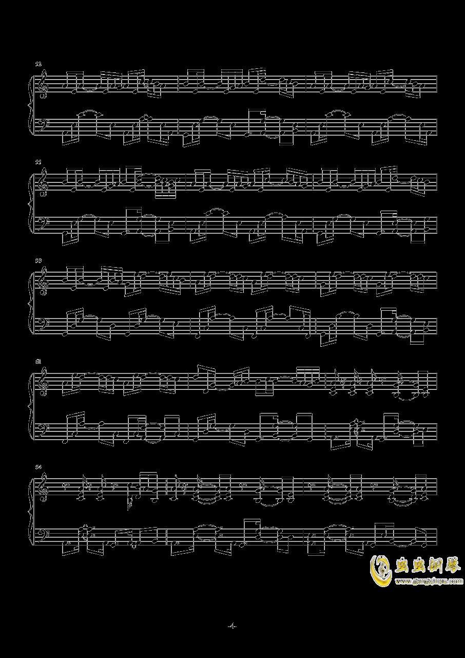 November Sky钢琴谱 第4页