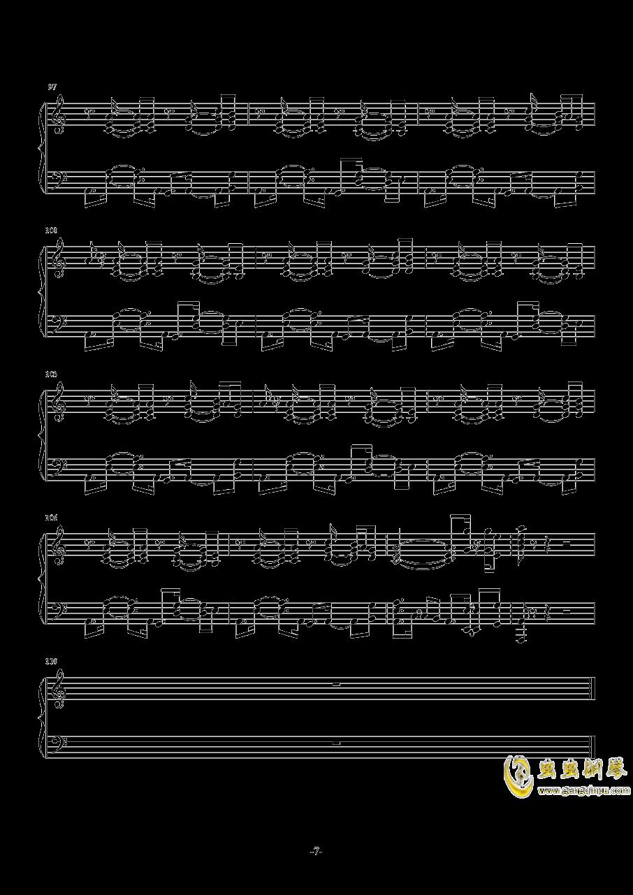 November Sky钢琴谱 第7页