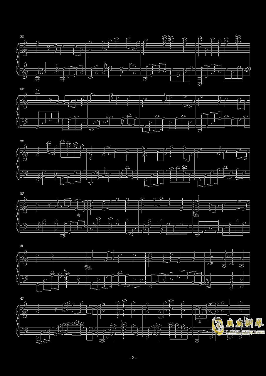 似是故人来钢琴谱 第2页