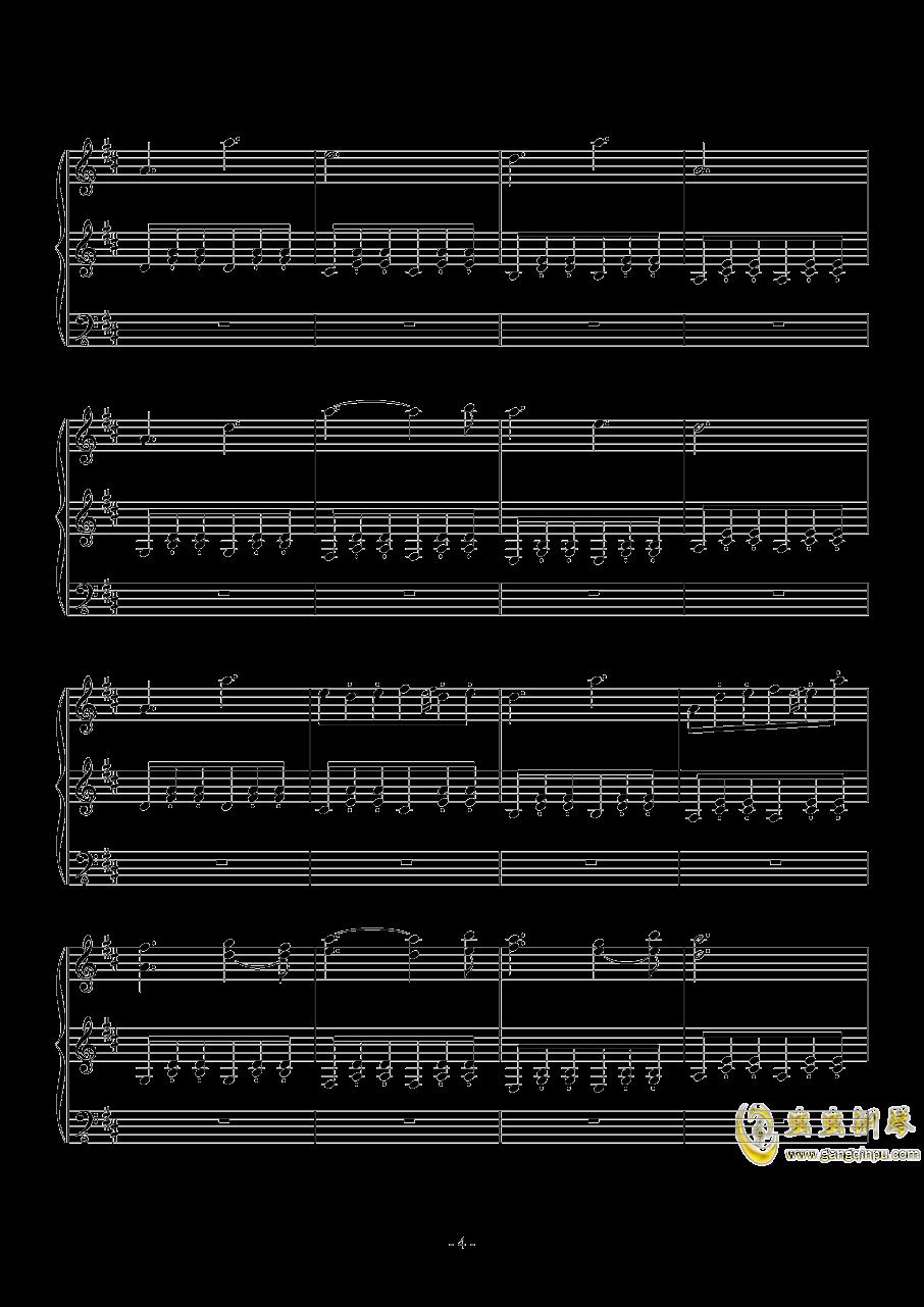 Fallen Down (Reprise)钢琴谱 第4页