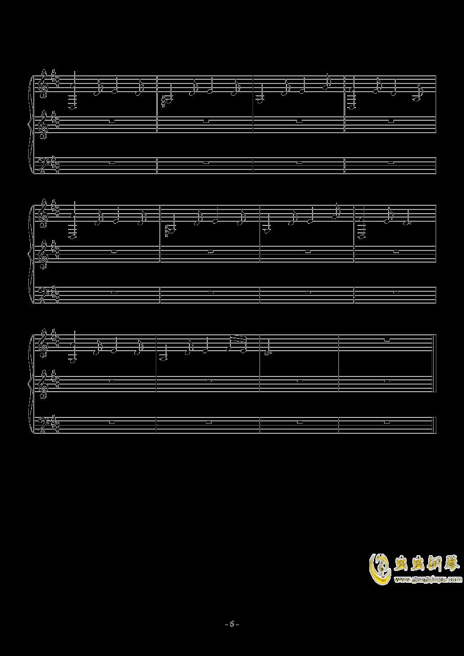 Fallen Down (Reprise)钢琴谱 第6页