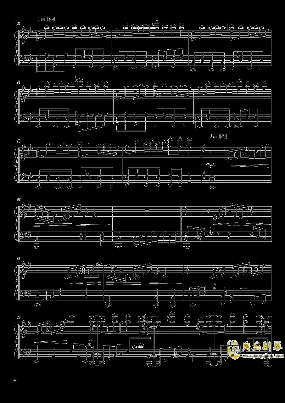 フラワリングナイト钢琴谱 第4页