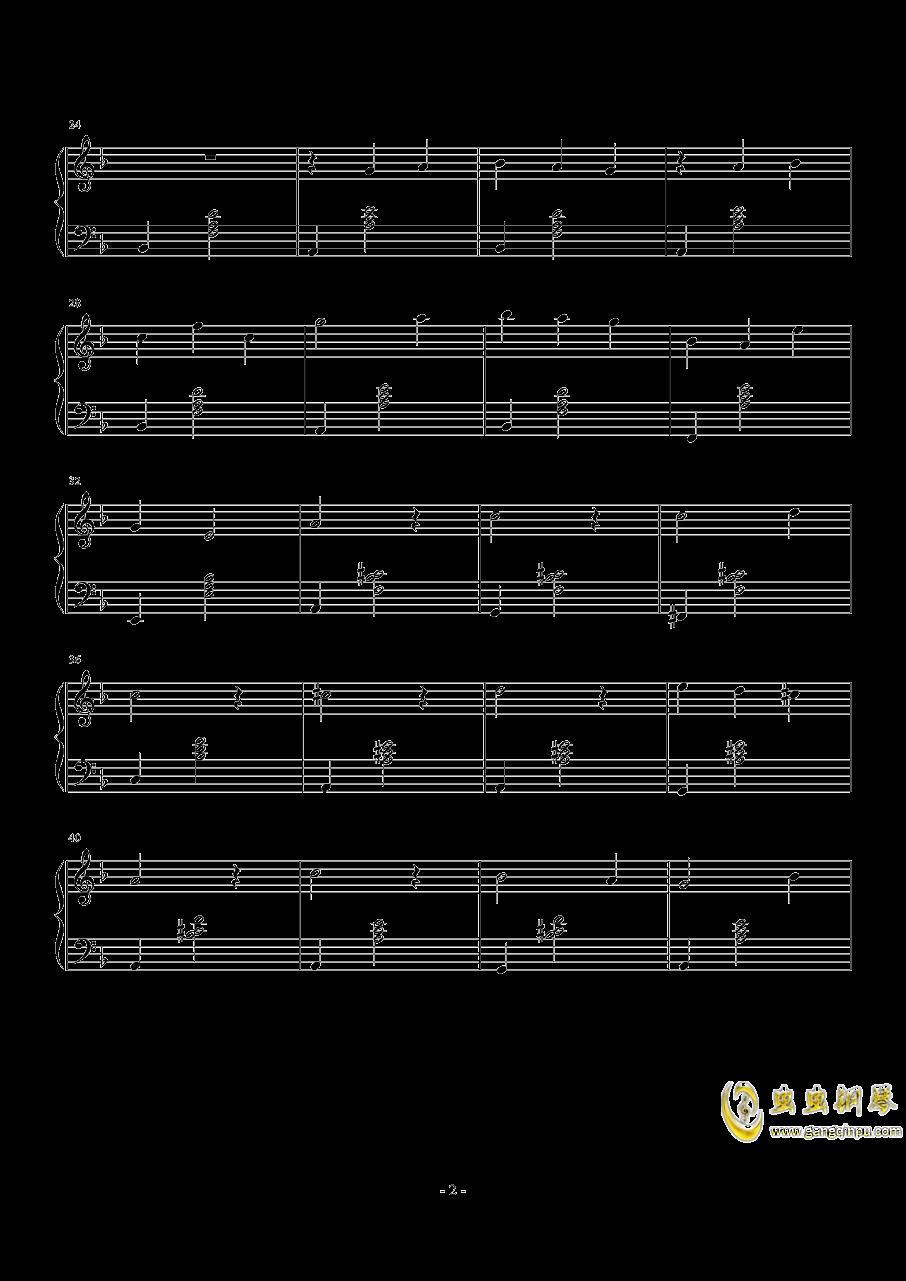 δ钢琴谱 第2页
