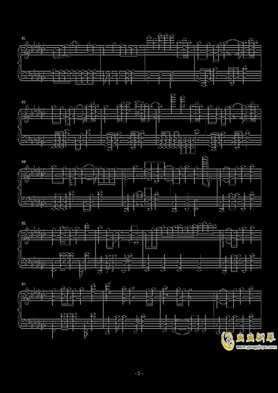 打上花火钢琴谱 第5页