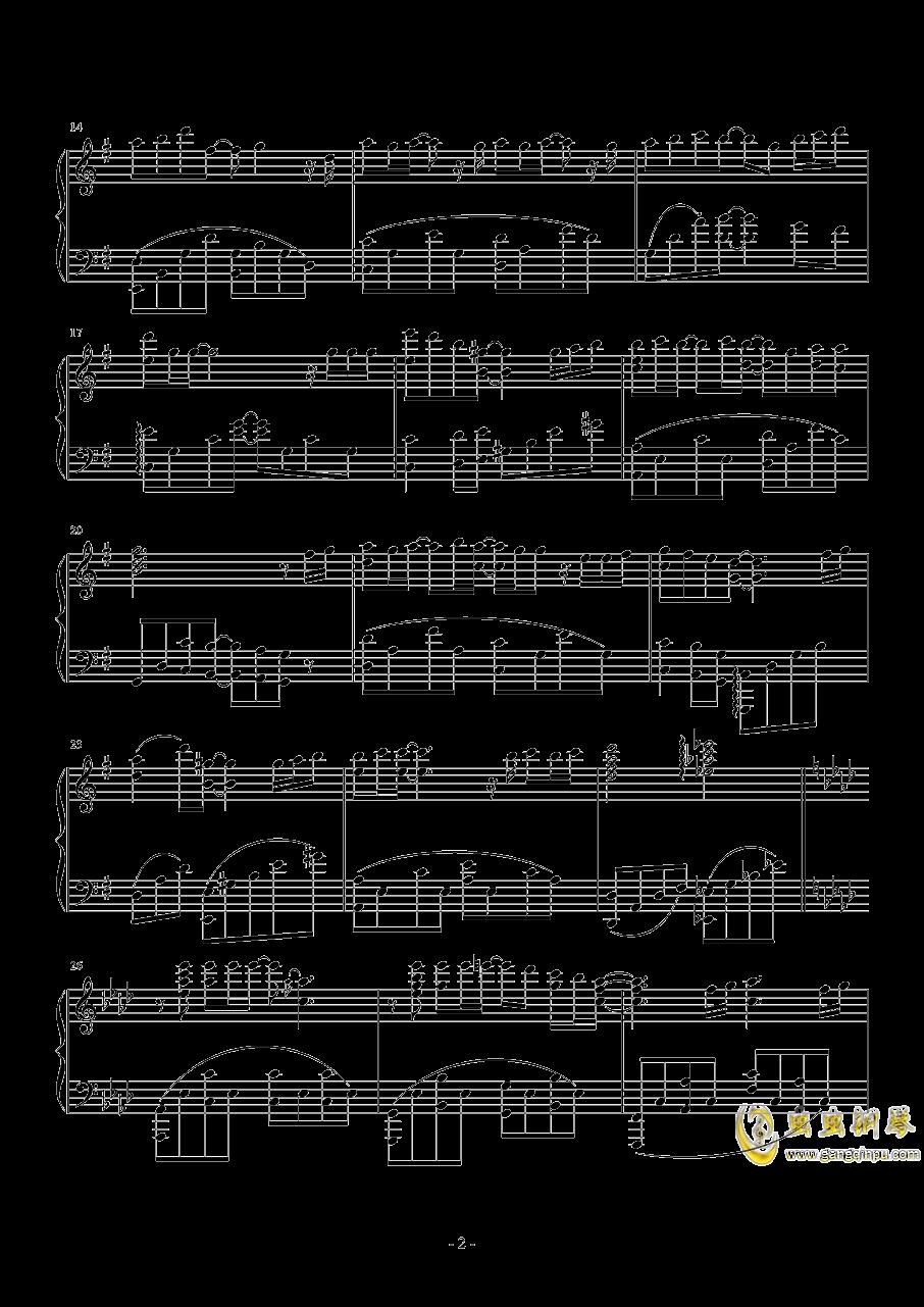 小泉花阳~なわとび钢琴谱 第2页