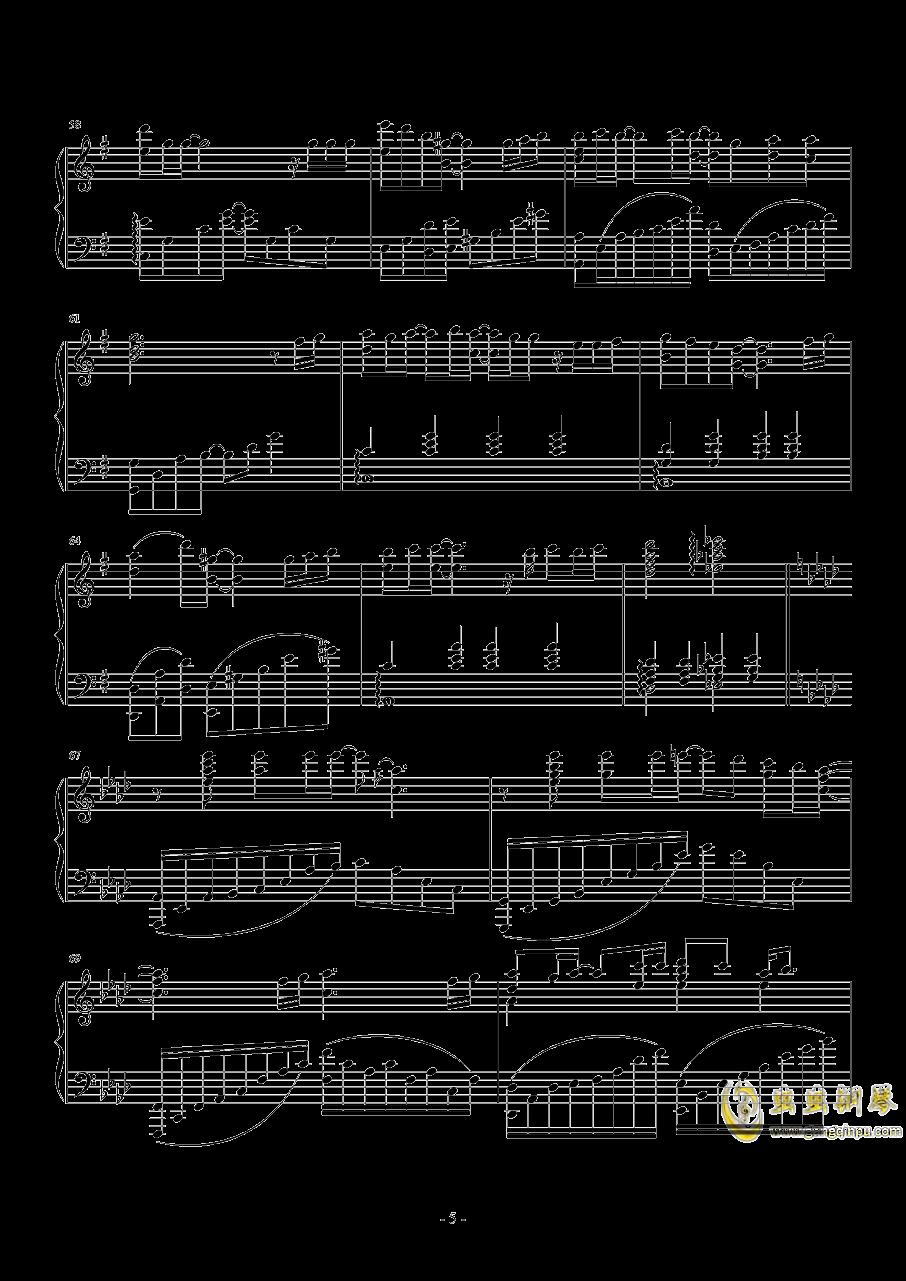 小泉花阳~なわとび钢琴谱 第5页