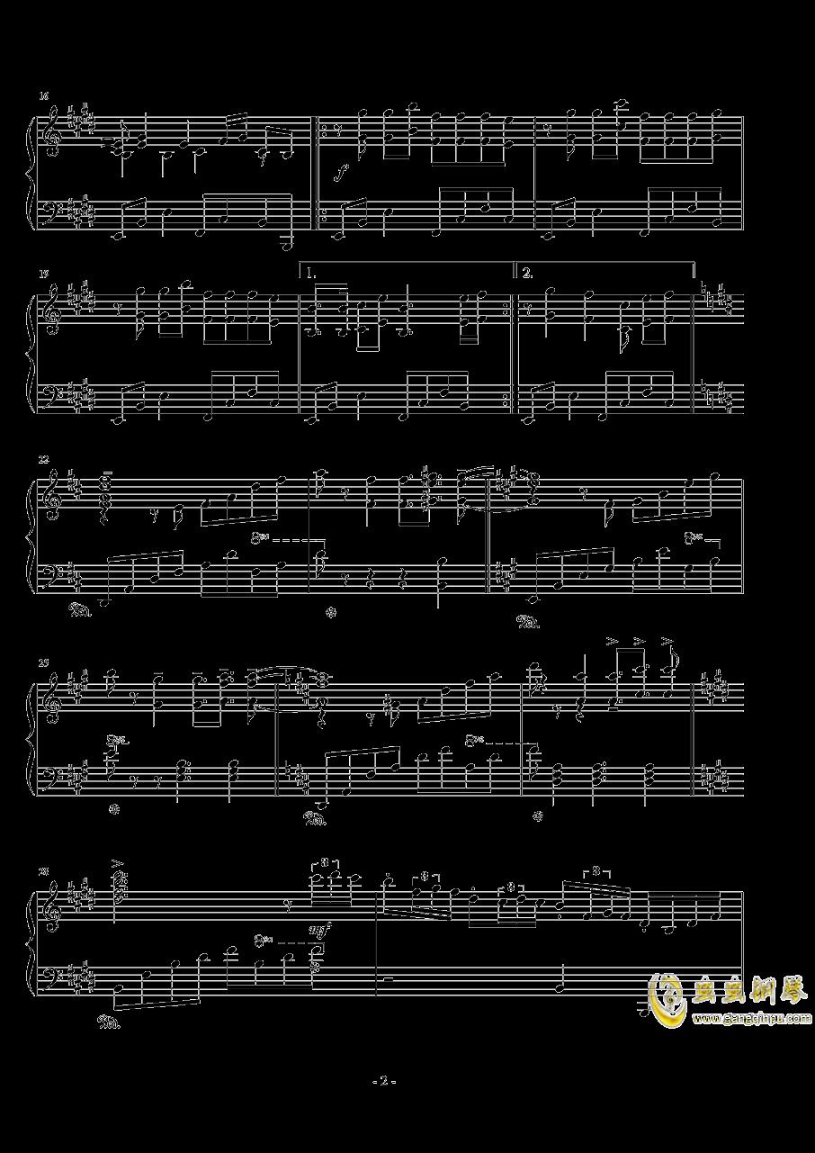 ��世界-妖精�M行曲钢琴谱 第2页
