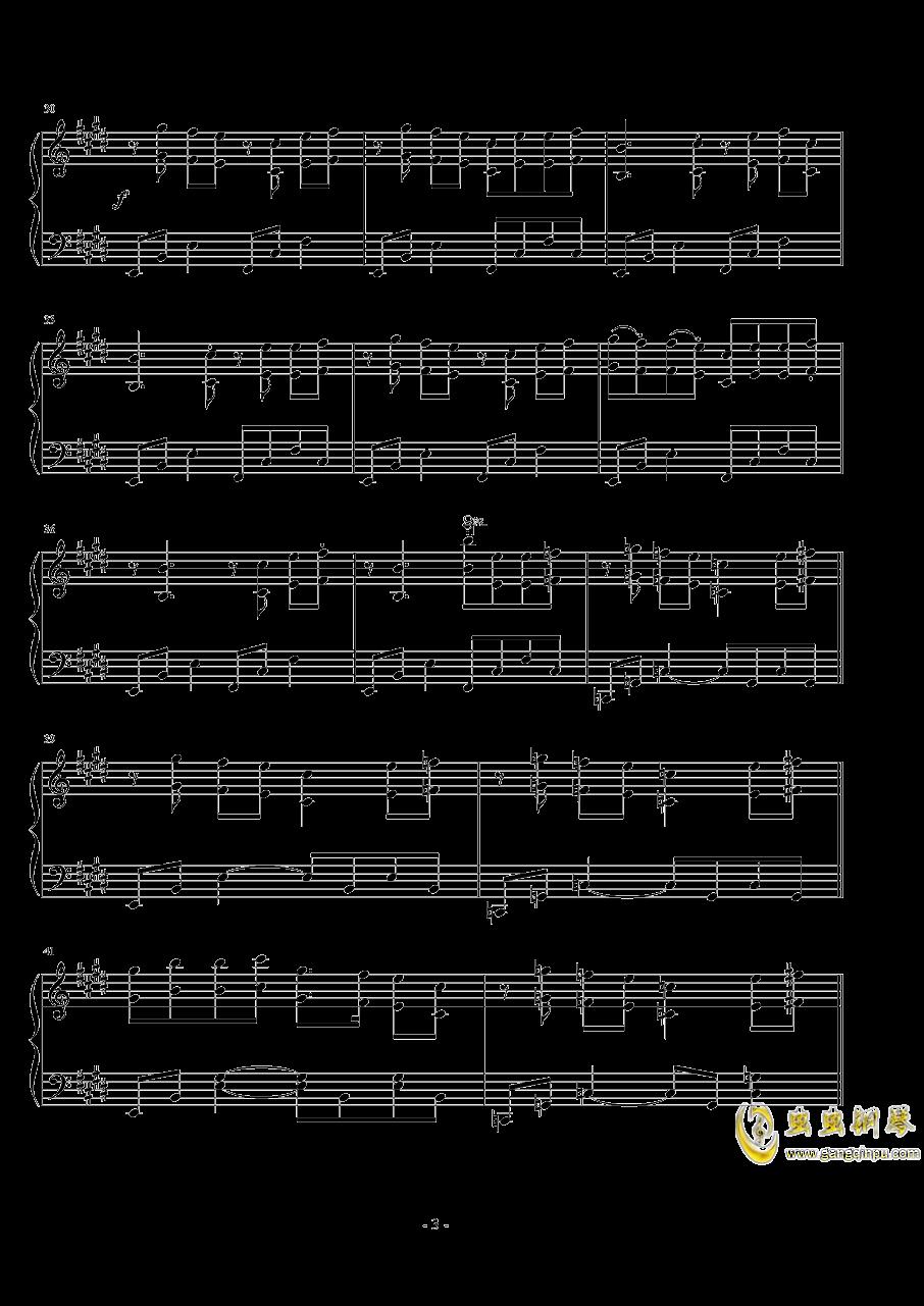 ��世界-妖精�M行曲钢琴谱 第3页