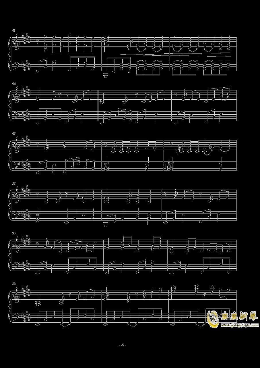 ��世界-妖精�M行曲钢琴谱 第4页