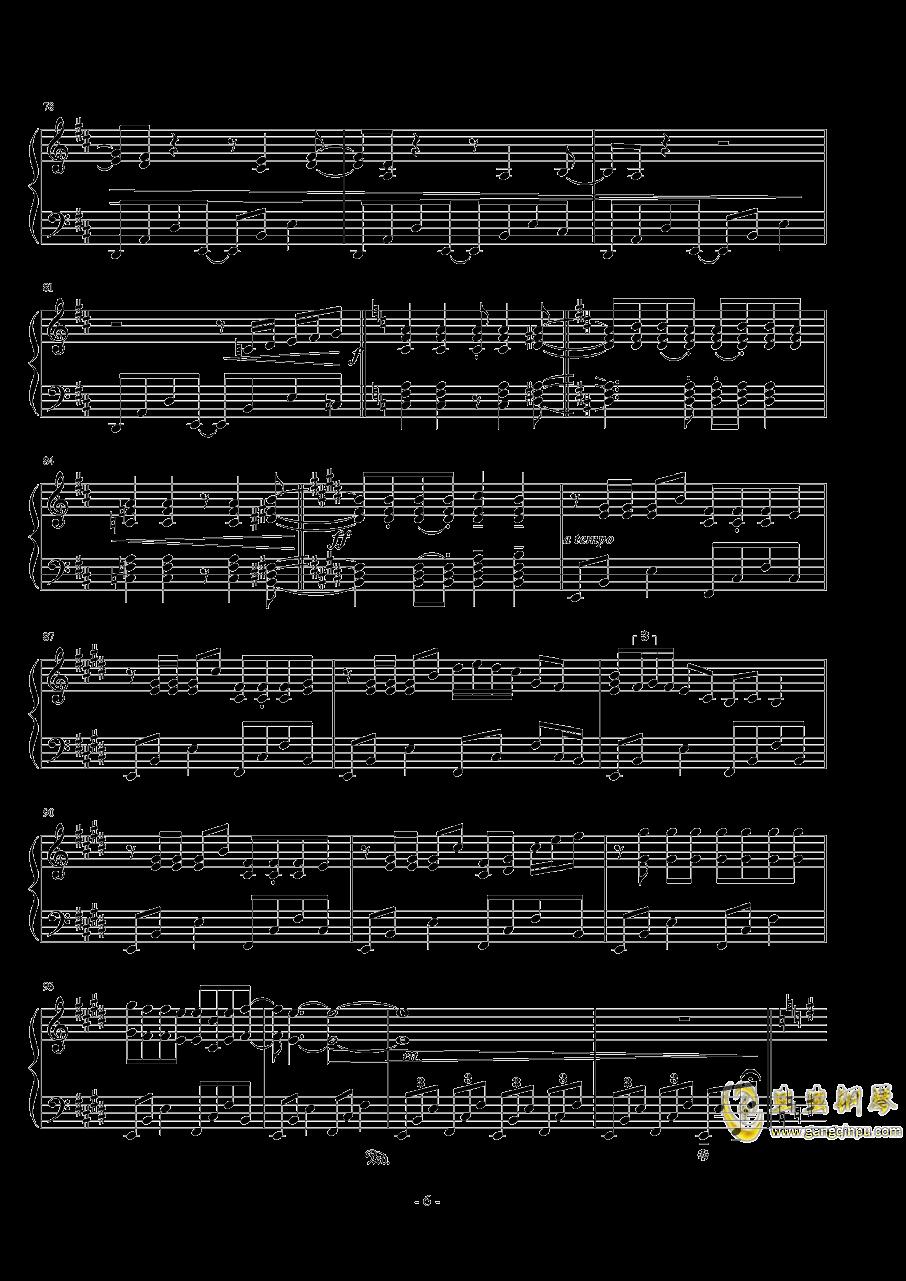 ��世界-妖精�M行曲钢琴谱 第6页