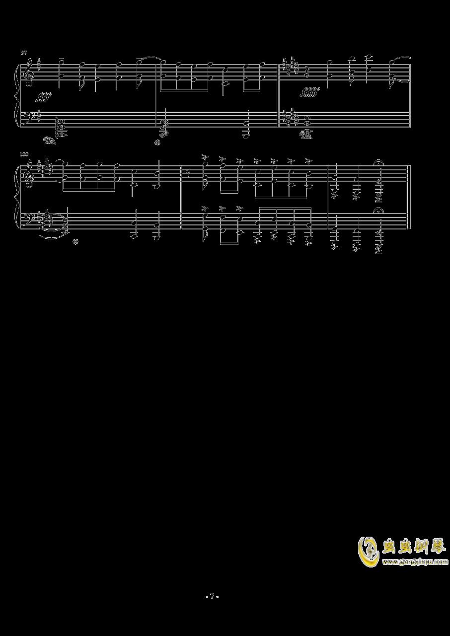 ��世界-妖精�M行曲钢琴谱 第7页