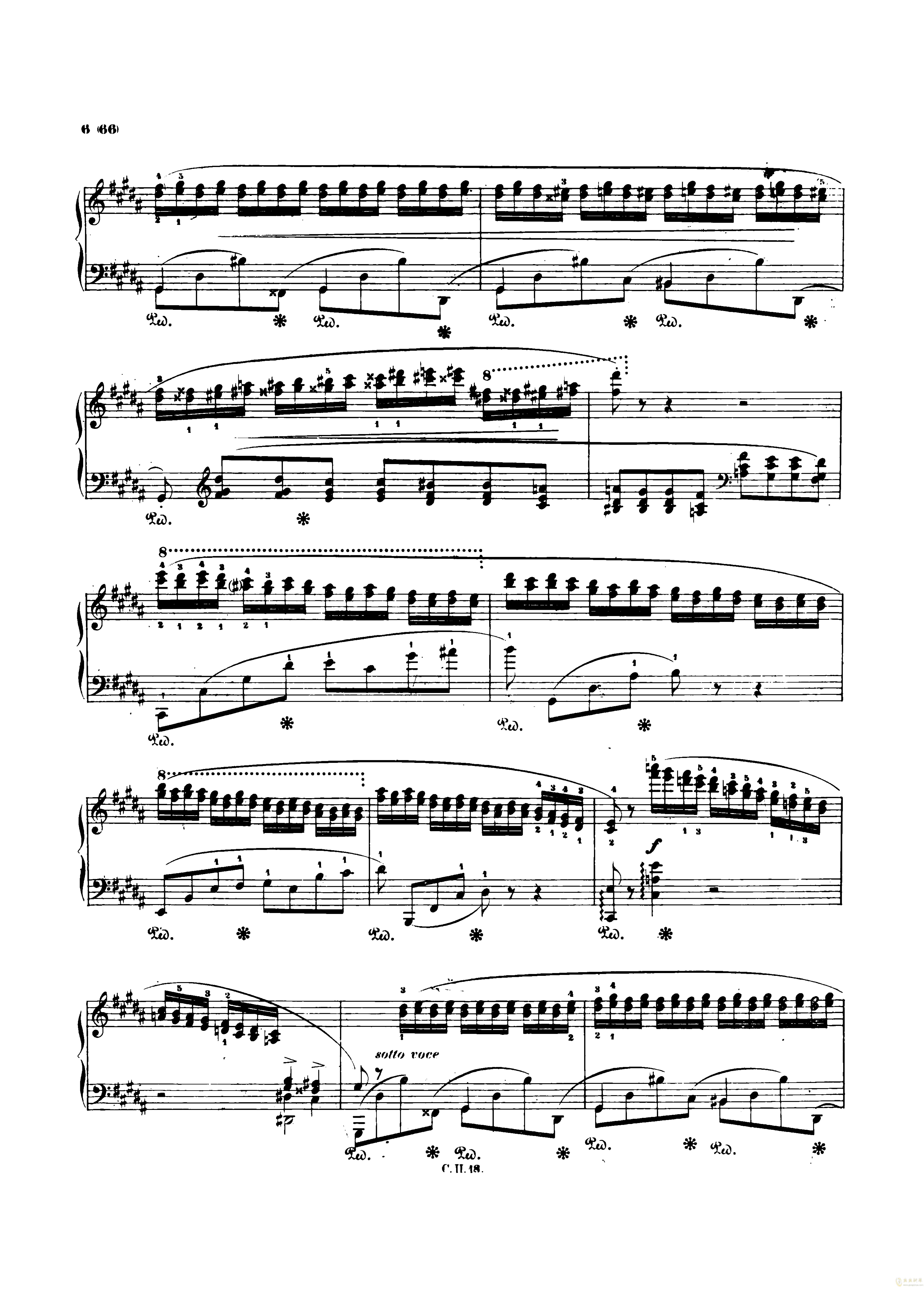 肖邦bE曲谱_离别曲肖邦钢琴曲谱