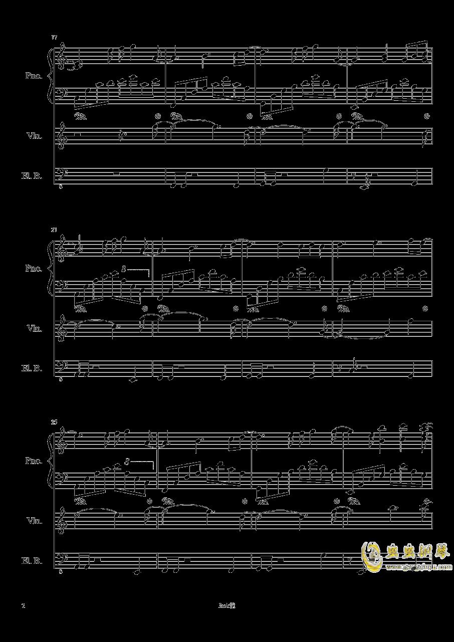 forever love钢琴谱 第2页