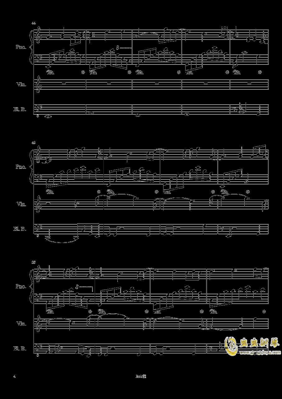forever love钢琴谱 第4页