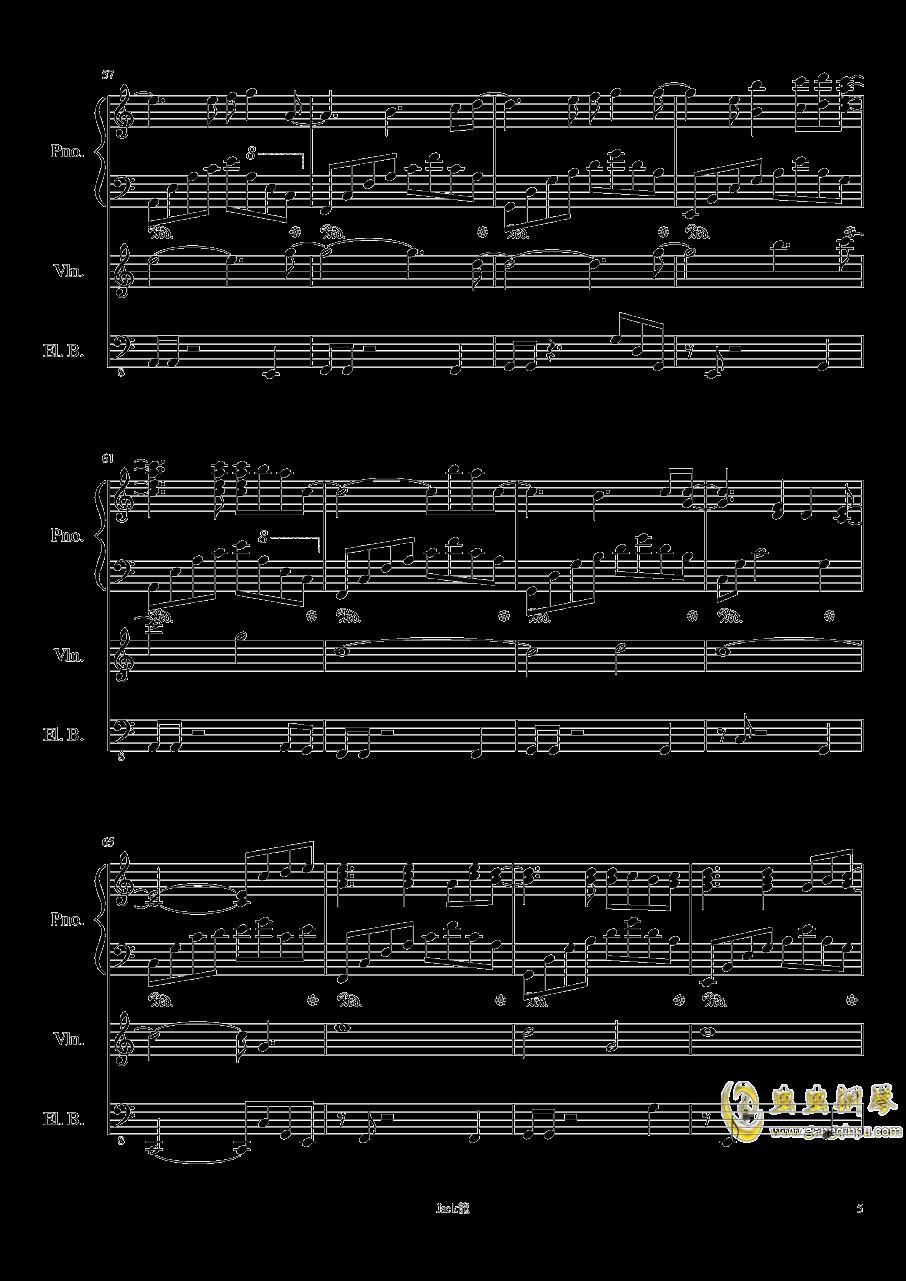 forever love钢琴谱 第5页
