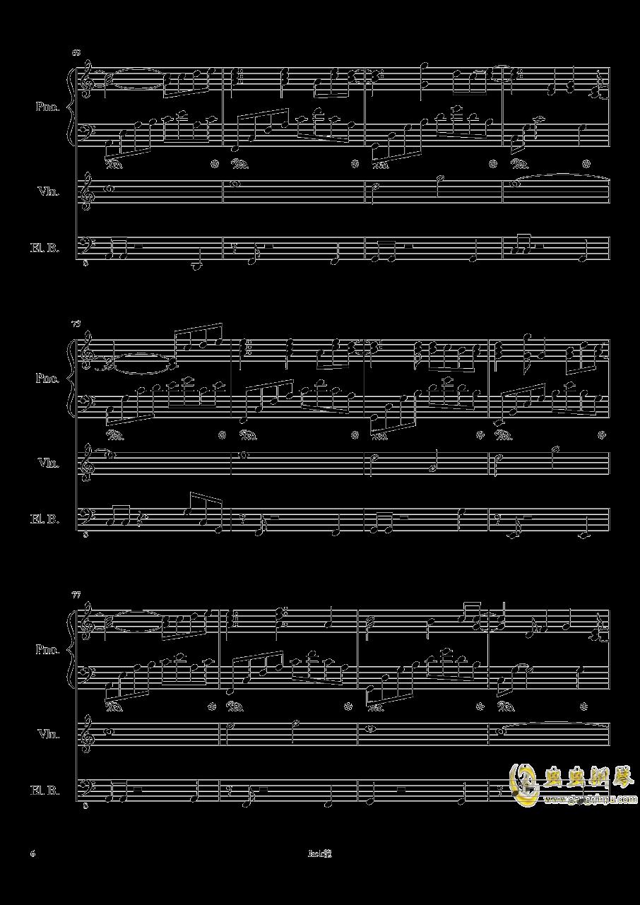forever love钢琴谱 第6页