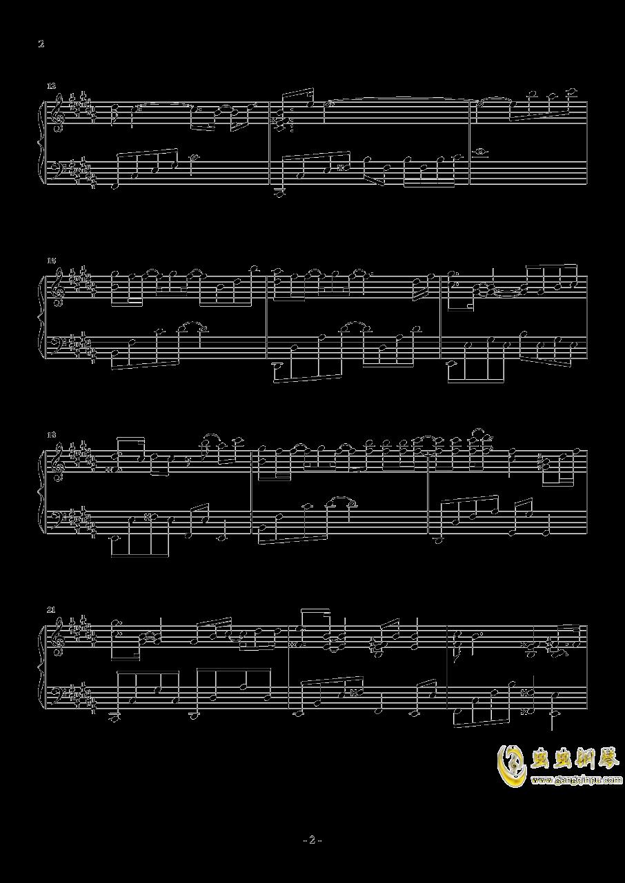 心不由己钢琴谱 第2页