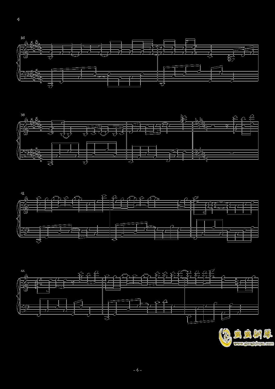 心不由己钢琴谱 第4页