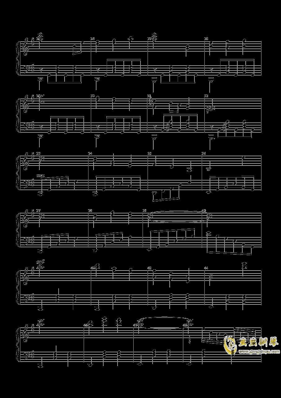 绿眼的嫉妒钢琴谱 第2页
