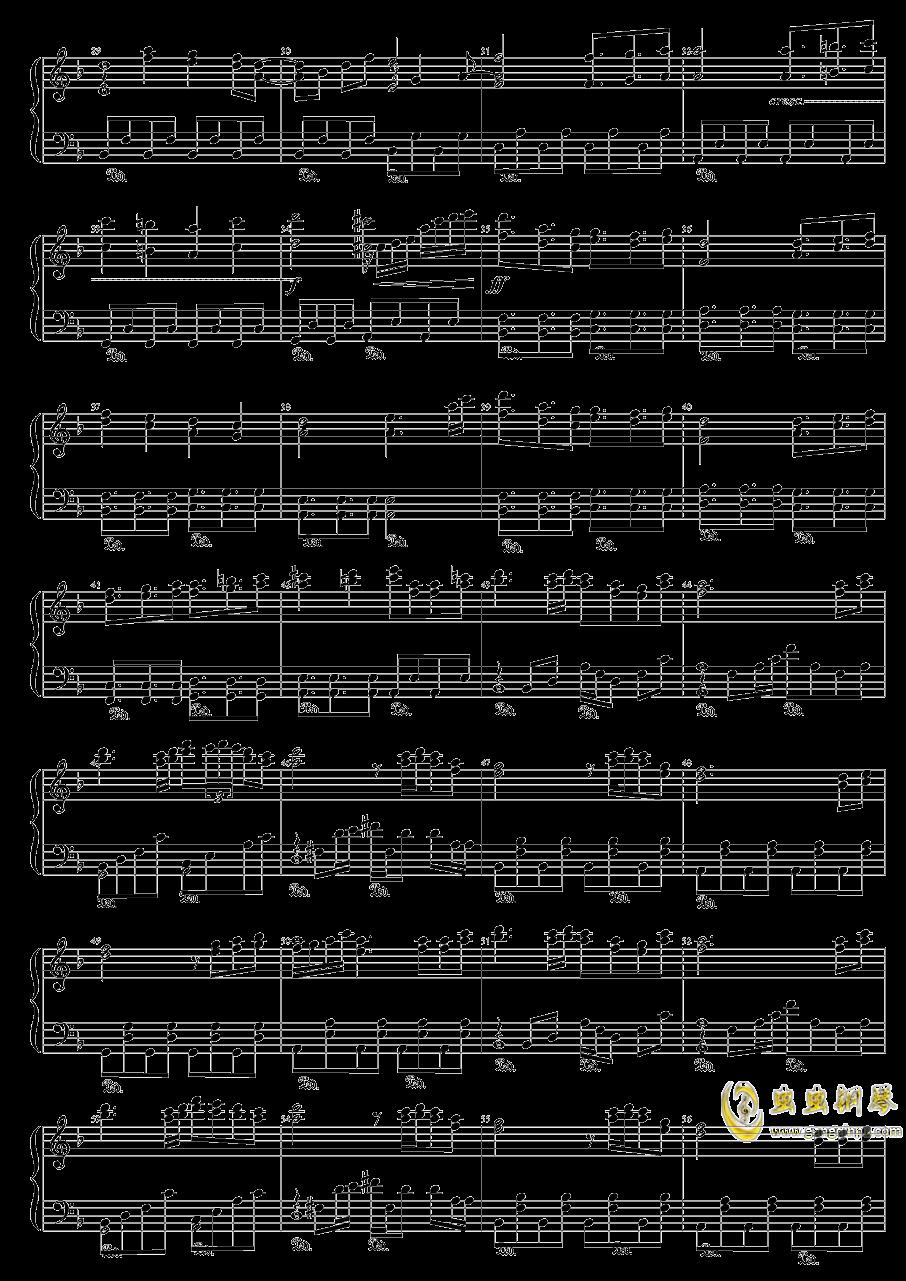众神眷恋的幻想乡钢琴谱 第2页