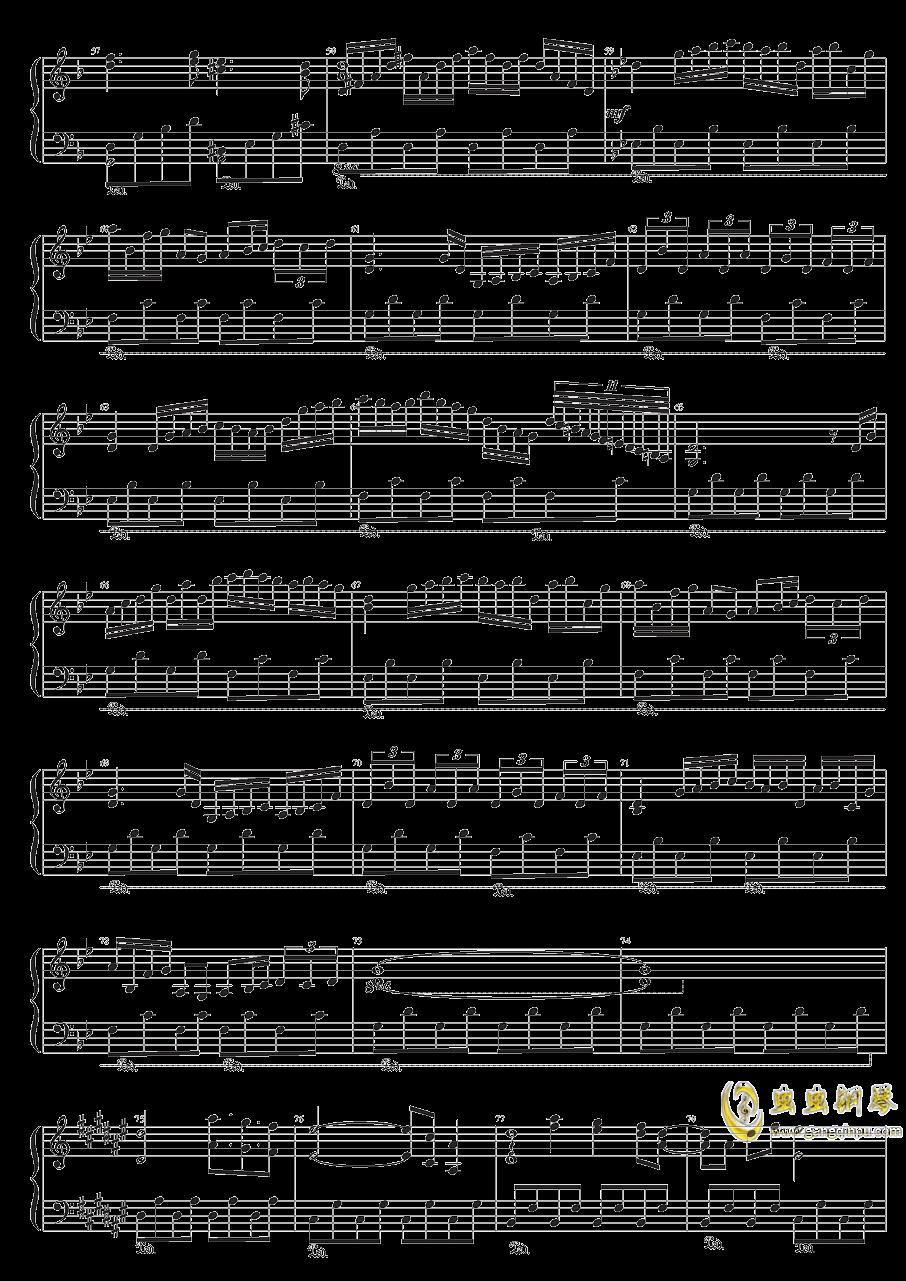 众神眷恋的幻想乡钢琴谱 第3页