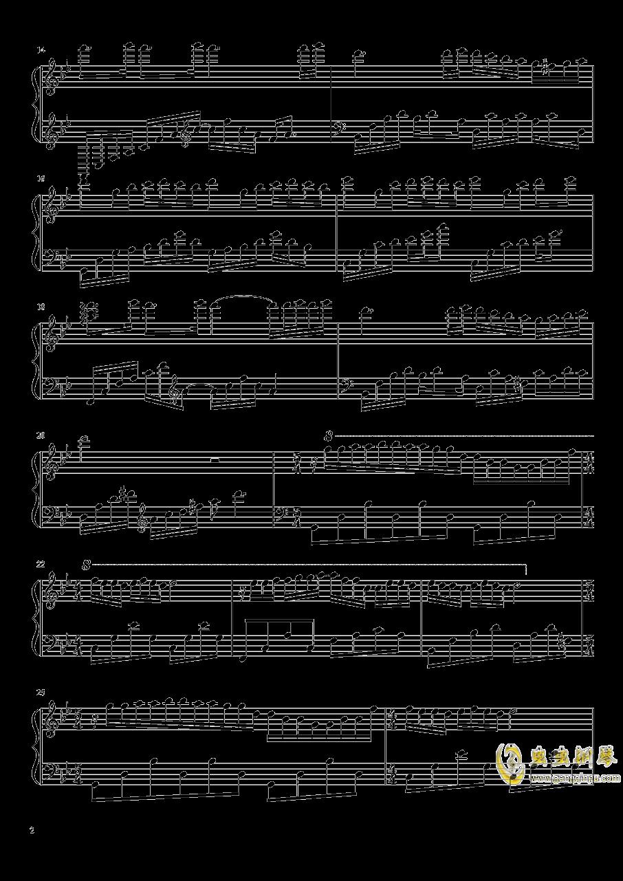 梦中的婚礼钢琴谱 第2页