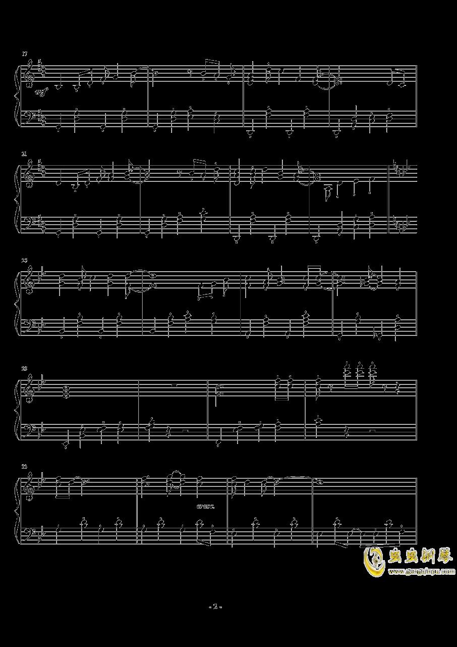 微�L之夏钢琴谱 第2页