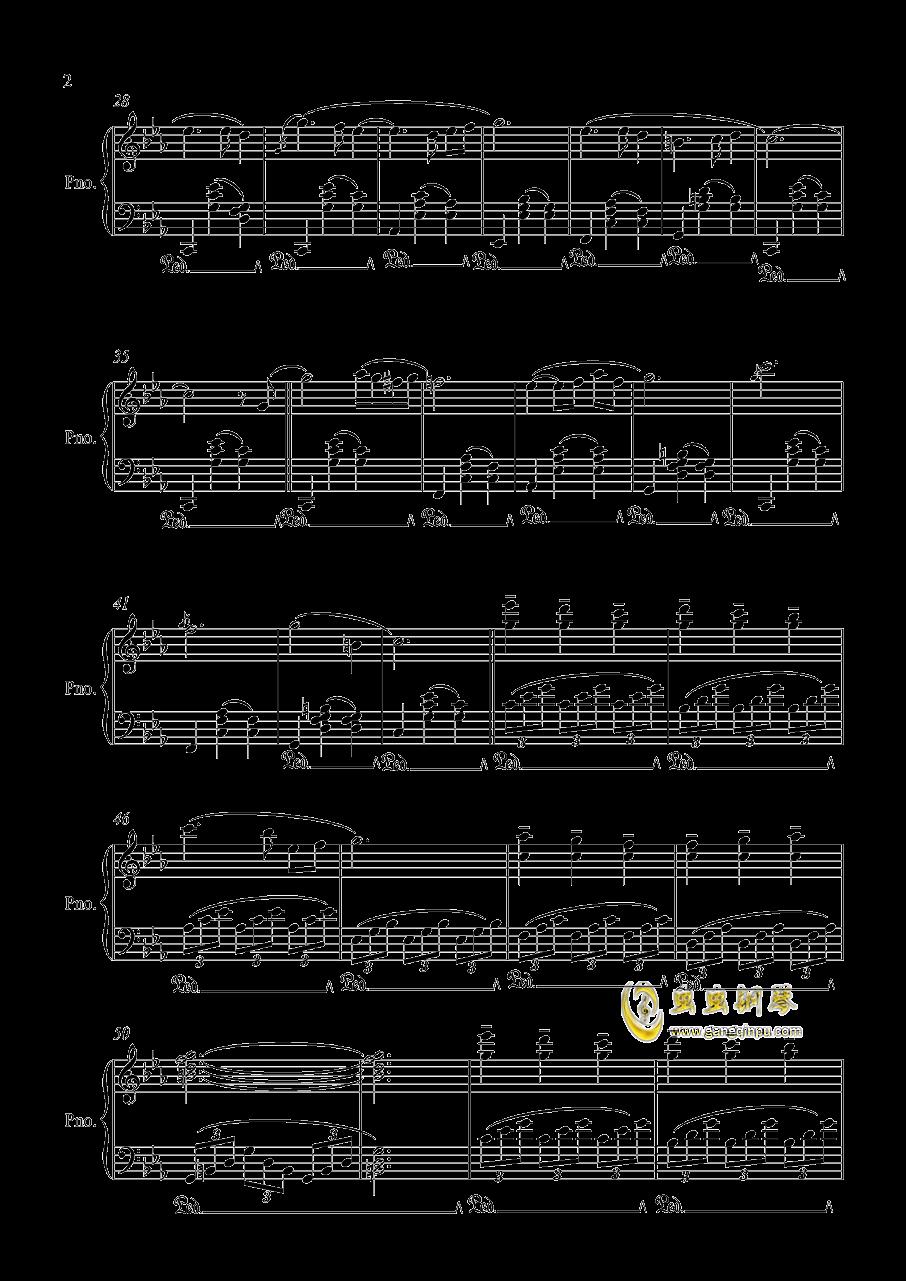时光之舞钢琴谱 第2页