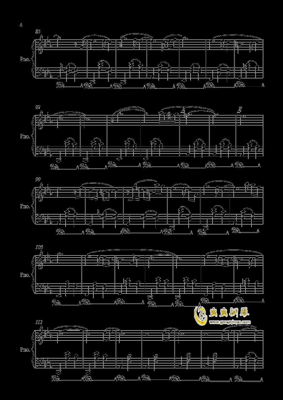 时光之舞钢琴谱 第4页