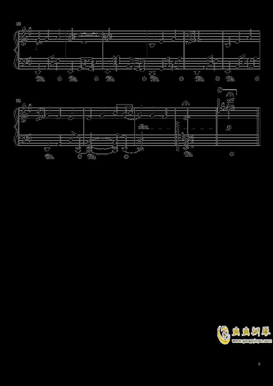 暗�の�L穴钢琴谱 第5页