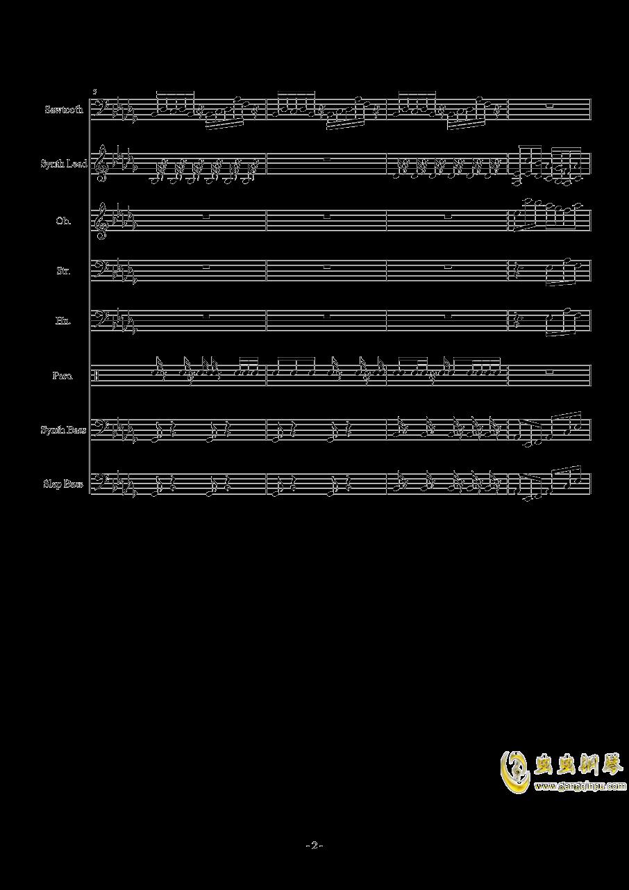 Heartache钢琴谱 第2页